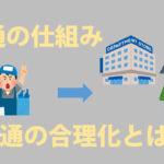 【中学公民】流通の仕組みを解説!流通の合理化とは??
